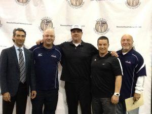 Baseball Health Network staff - Dr. Ahmad, Doug Cinnella, Steve Hayward, Eric D'Agati, Leo Mazzone