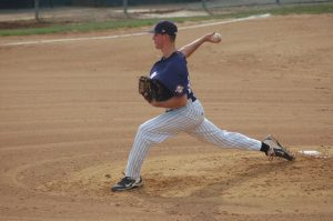 NJ high school pitcher