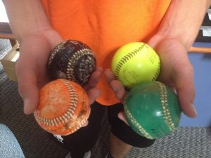 weighted baseballs