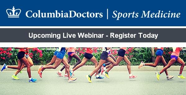 Columbia Sports Medicine webinar